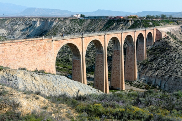 Puente vía verde Murcia