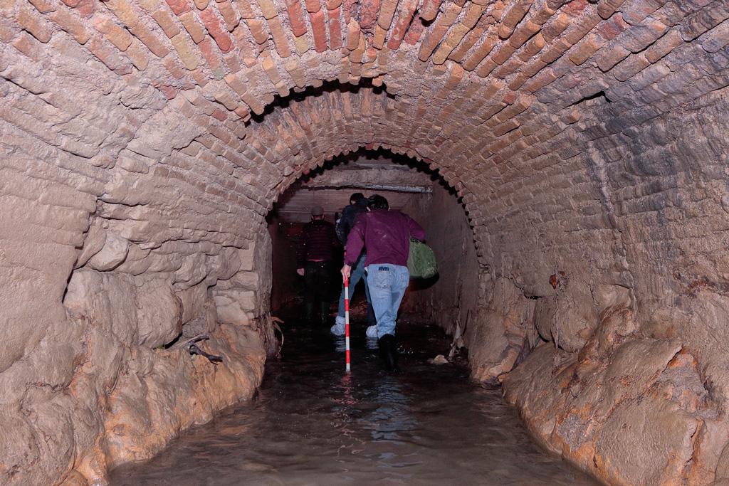 La acequia Aljufía subterráneo