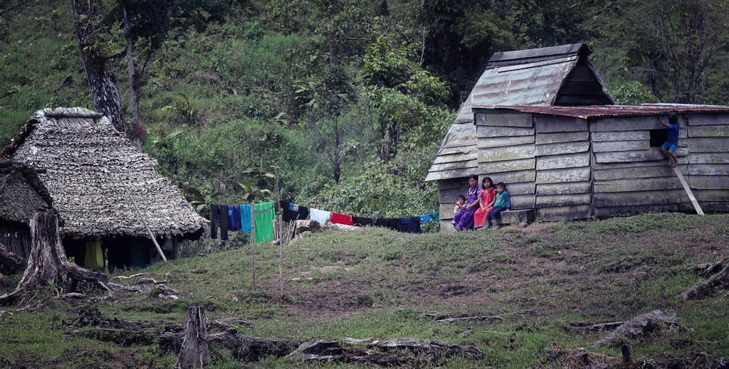Indígenas en Bocas del Torro