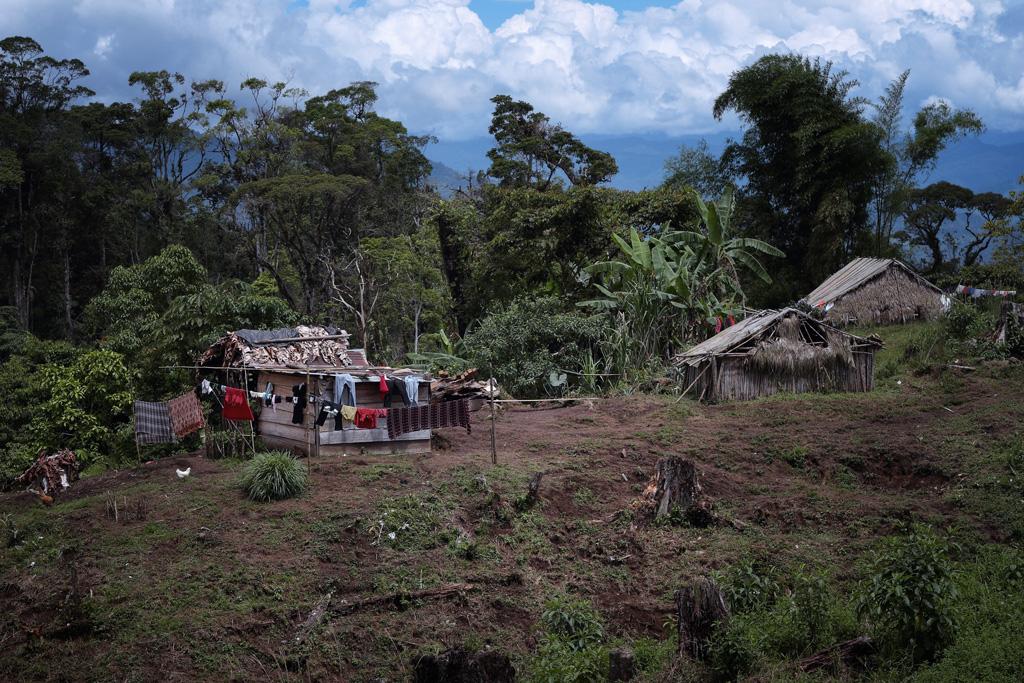 Pueblo de Alto Romero  en Bocas del Torro