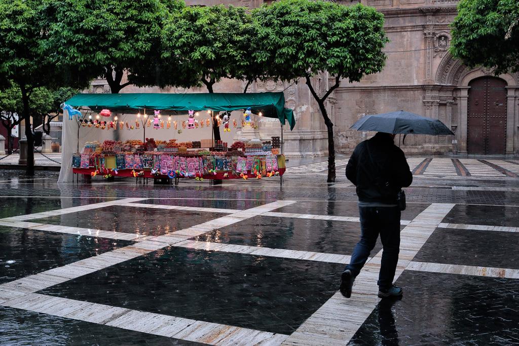 Fotos temporal de lluvia en la Ciudad de Murcia