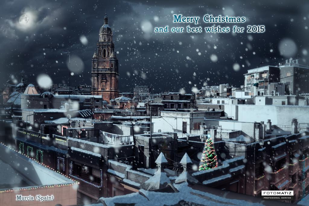 Felices Fiestas y los mejores deseo para el 2015