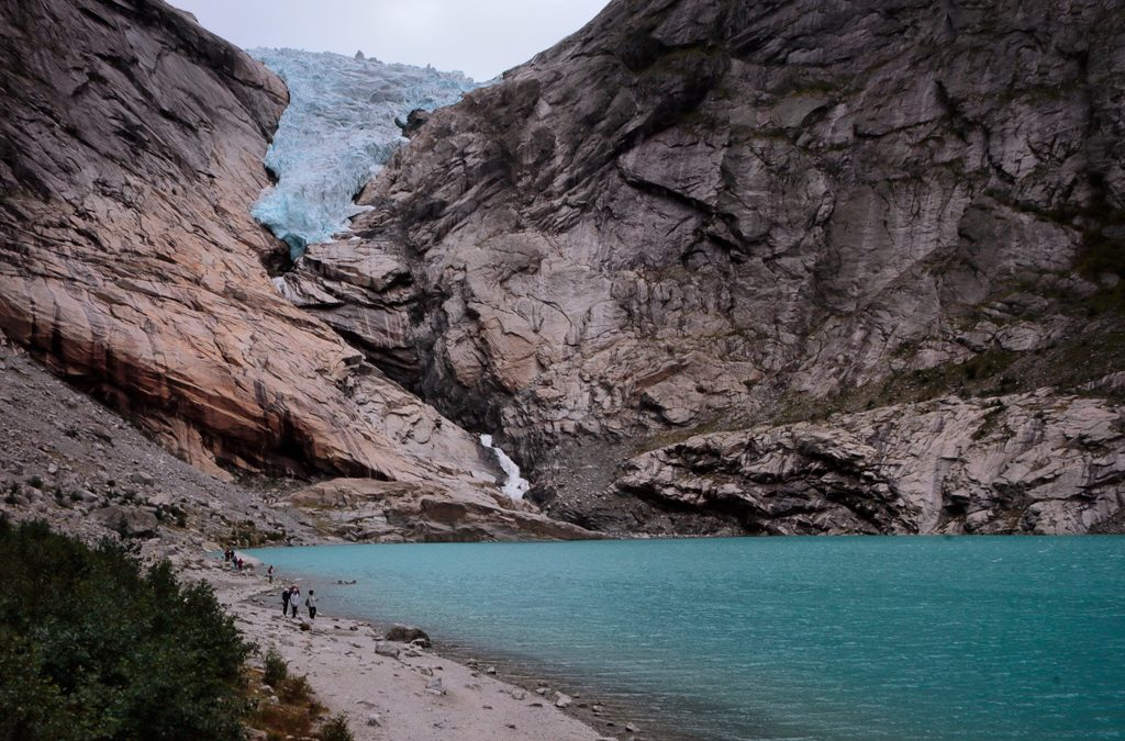 Visita al Glaciar de Briksdal