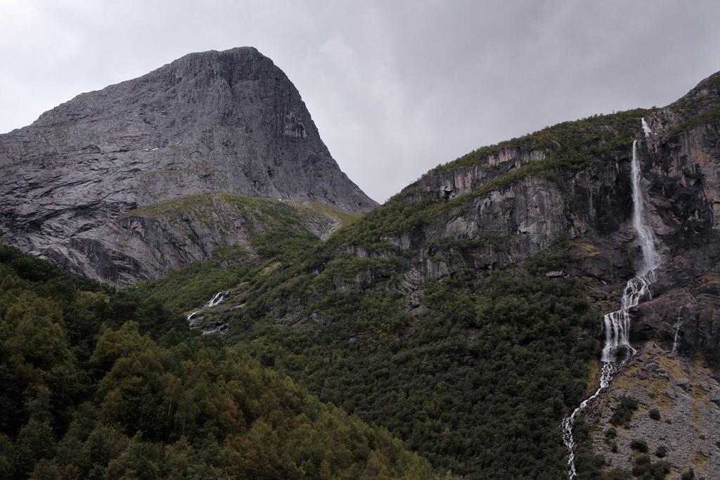 Glaciar de Briksdal en Noruega