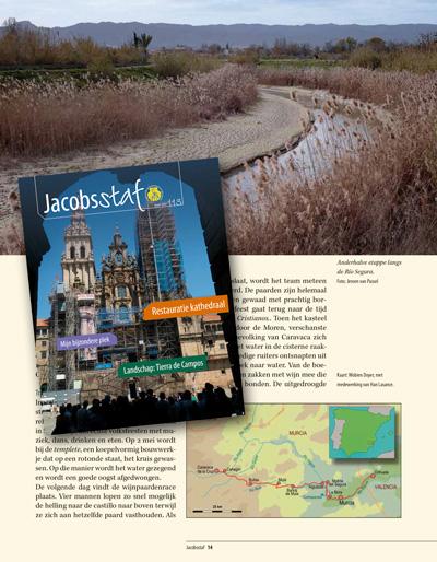 Revista de preregrinos Holandés JACOBSSTAF