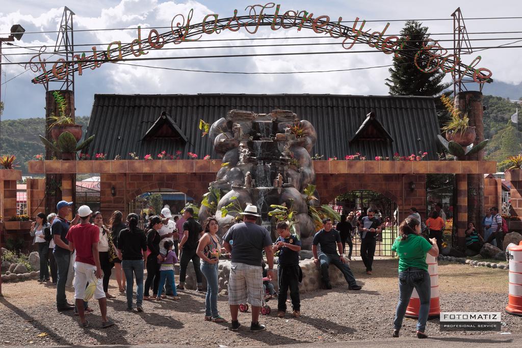 Entrada Feria de Boquete