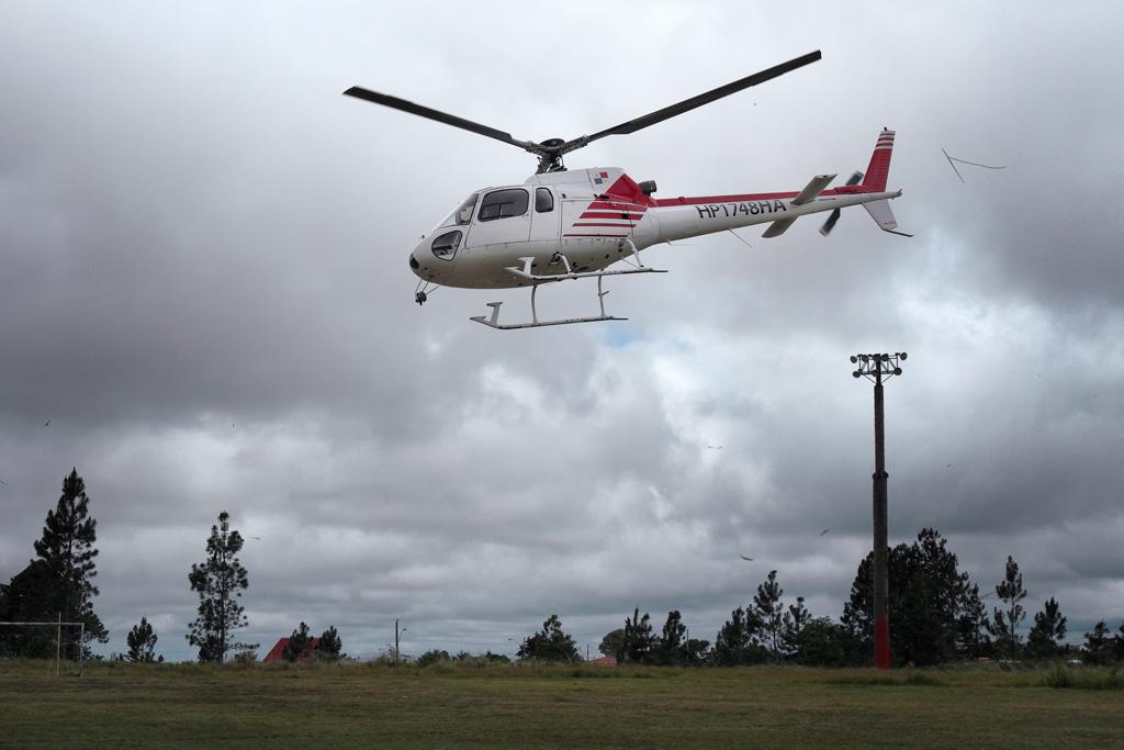 Viajar en helicóptero a Bocas del Torro