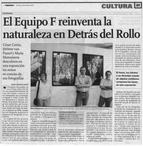 Articulo en la Opinion de Murcia