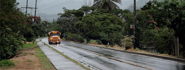 Pueblo de Boquete en Chiriquí (Panamá)