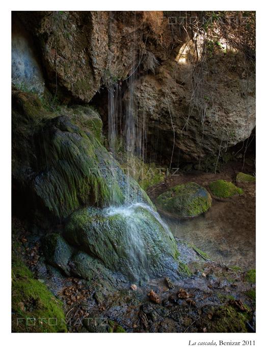 La cascada en Benizar