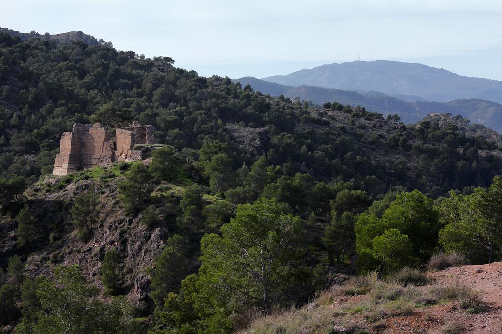 El Castillo dentro el parque el Valle y Carrascoy