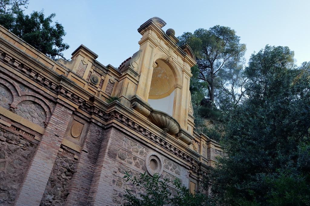 Fotografía de una cúpula dentro del entorno del Santuario