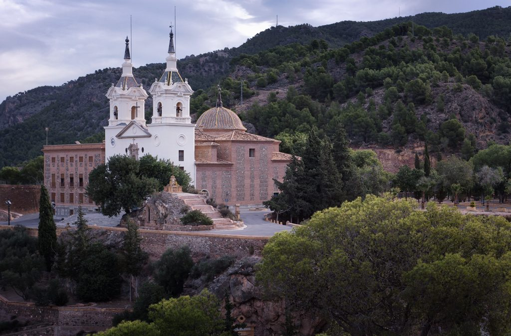 El Santuario de Nuestra Señora de la Fuensanta en Murcia