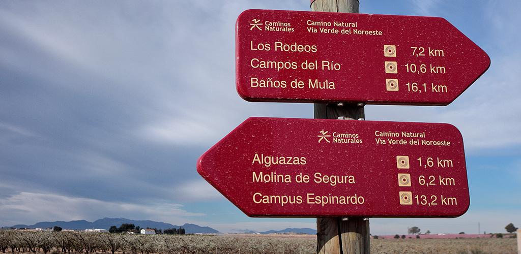 Camino a Caravaca
