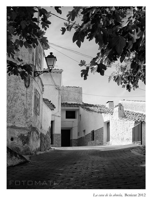 La casa de la abuela en Benizar