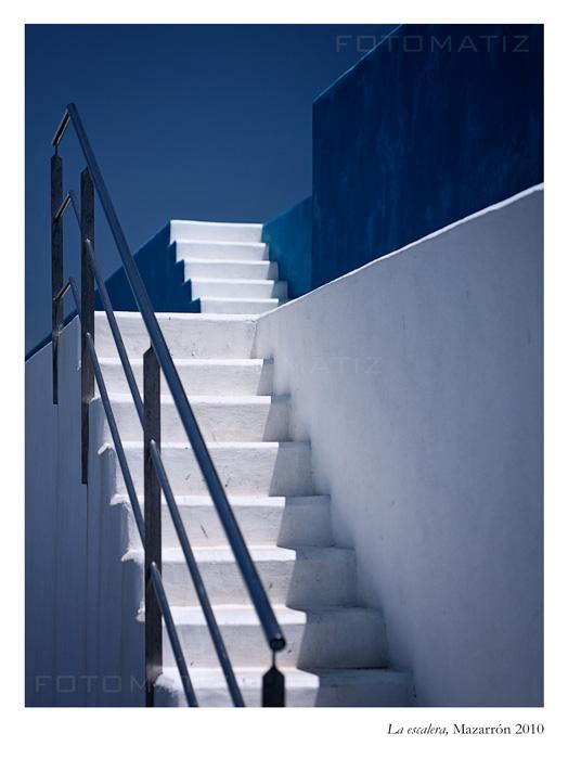 La escalera en Mazarrón